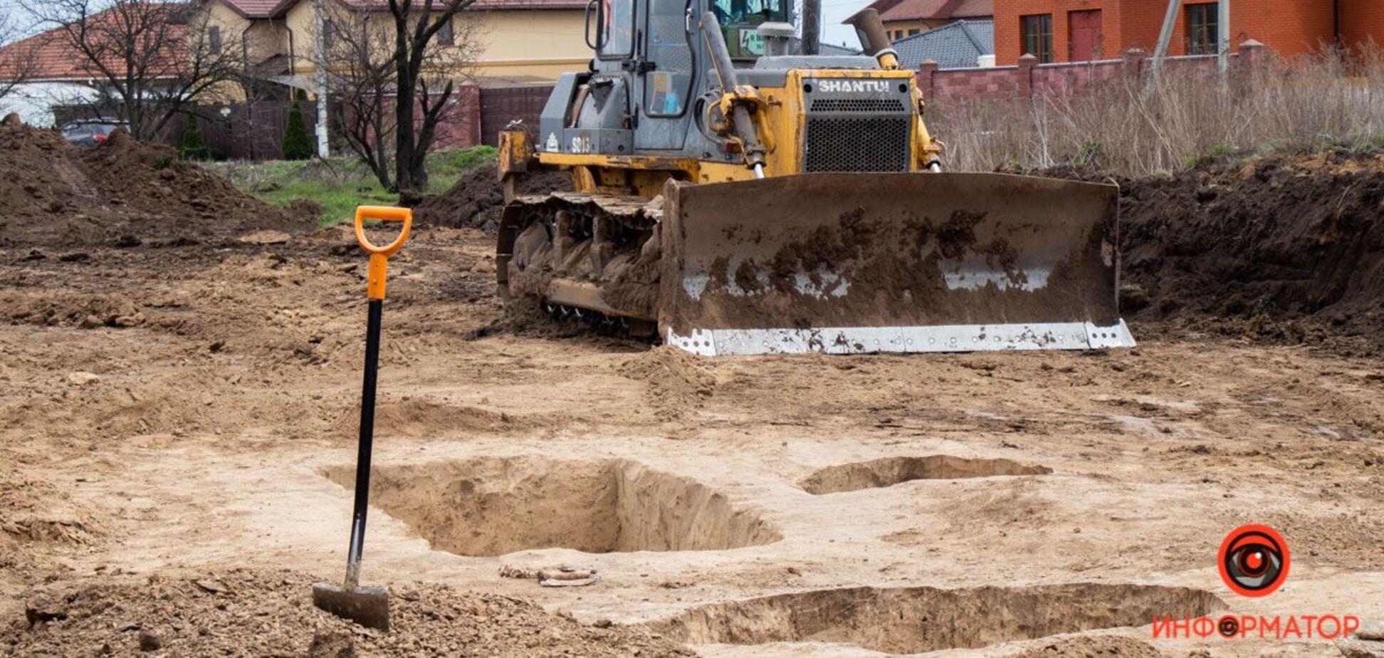 Под Днепром из-за стройки разрушили древний курган: СМИ назвали виновных