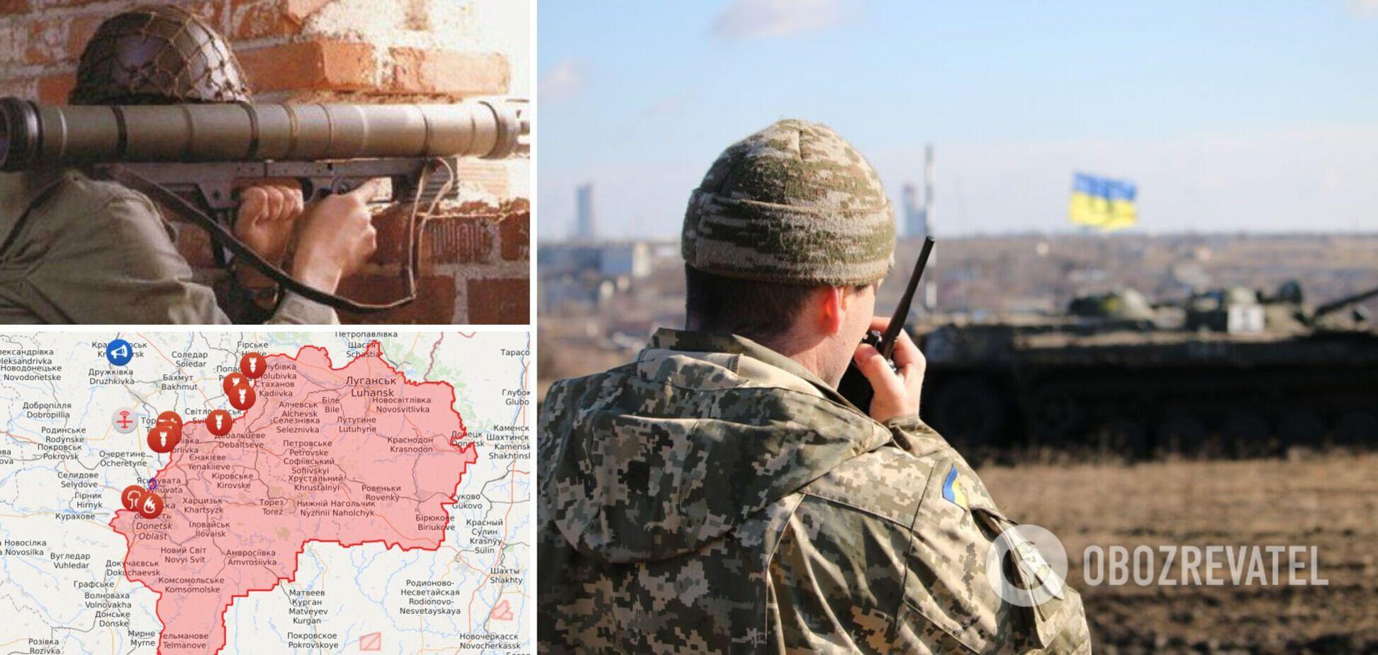 Окупанти накрили гранатометним вогнем ЗСУ на Донбасі та поранили бійця
