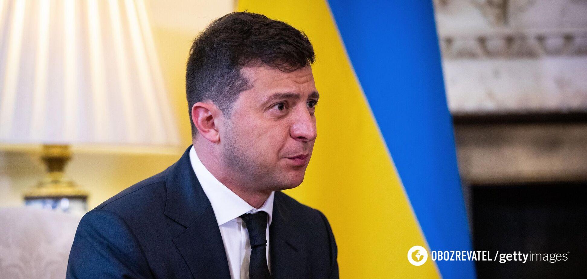 Президент Ураїни Володимир Зеленський