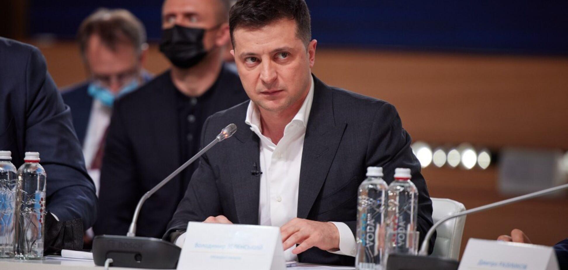 Зеленский призвал изменить Минские соглашения и расширить 'нормандский формат'