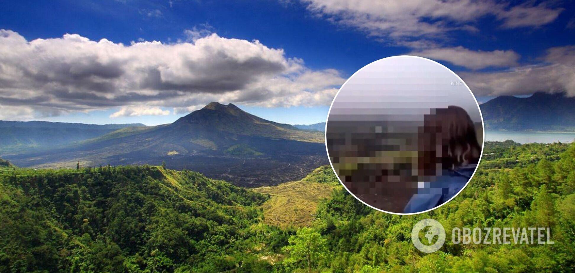 На Балі туристи з РФ зняли порноролик на горі: їм загрожує в'язниця