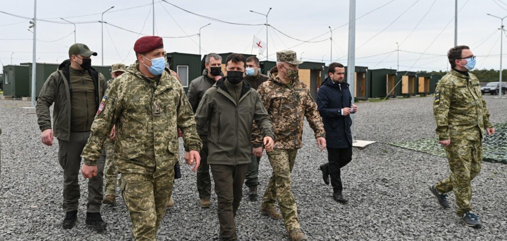 Зеленский надеется на объявление режима прекращения огня на встрече ТКГ