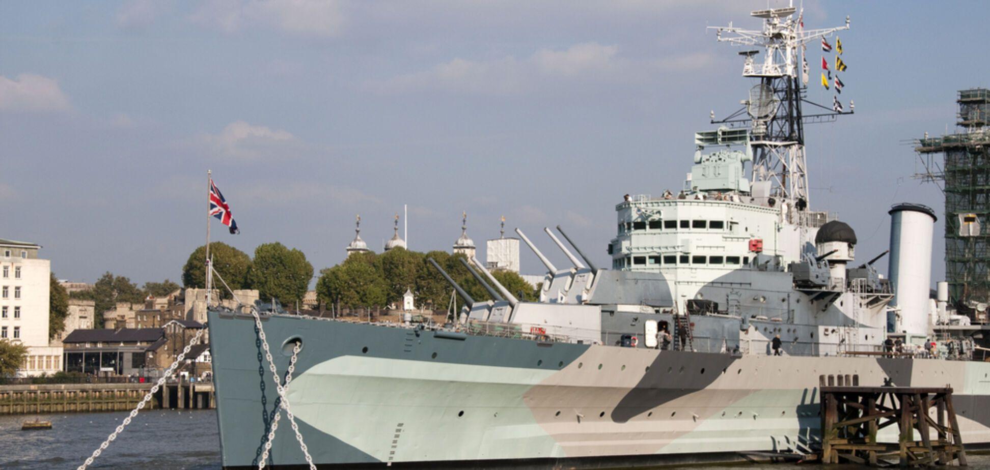 Найбільша в історії група британських авіаносців зайде в Чорне море