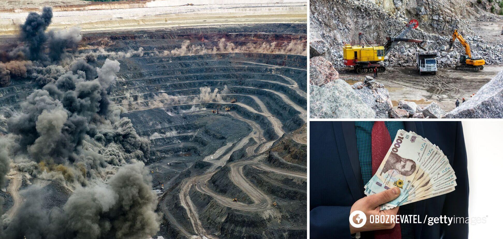 На Запоріжжі викрили незаконний видобуток граніту на 1 млрд грн