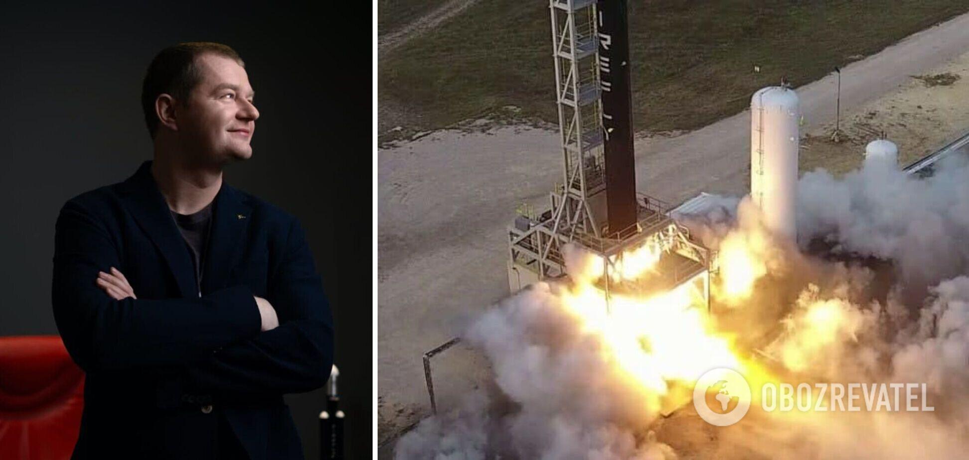 Firefly Aerospace развивается быстрыми темпами, ракету Alpha скоро запустят, – Макс Поляков