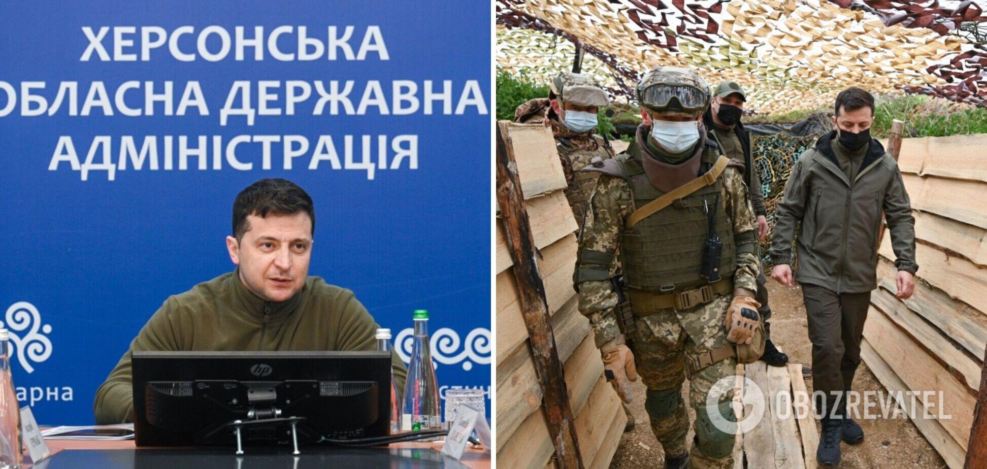 Зеленский поручил собрать заседание СНБО из-за ситуации на границе с Крымом