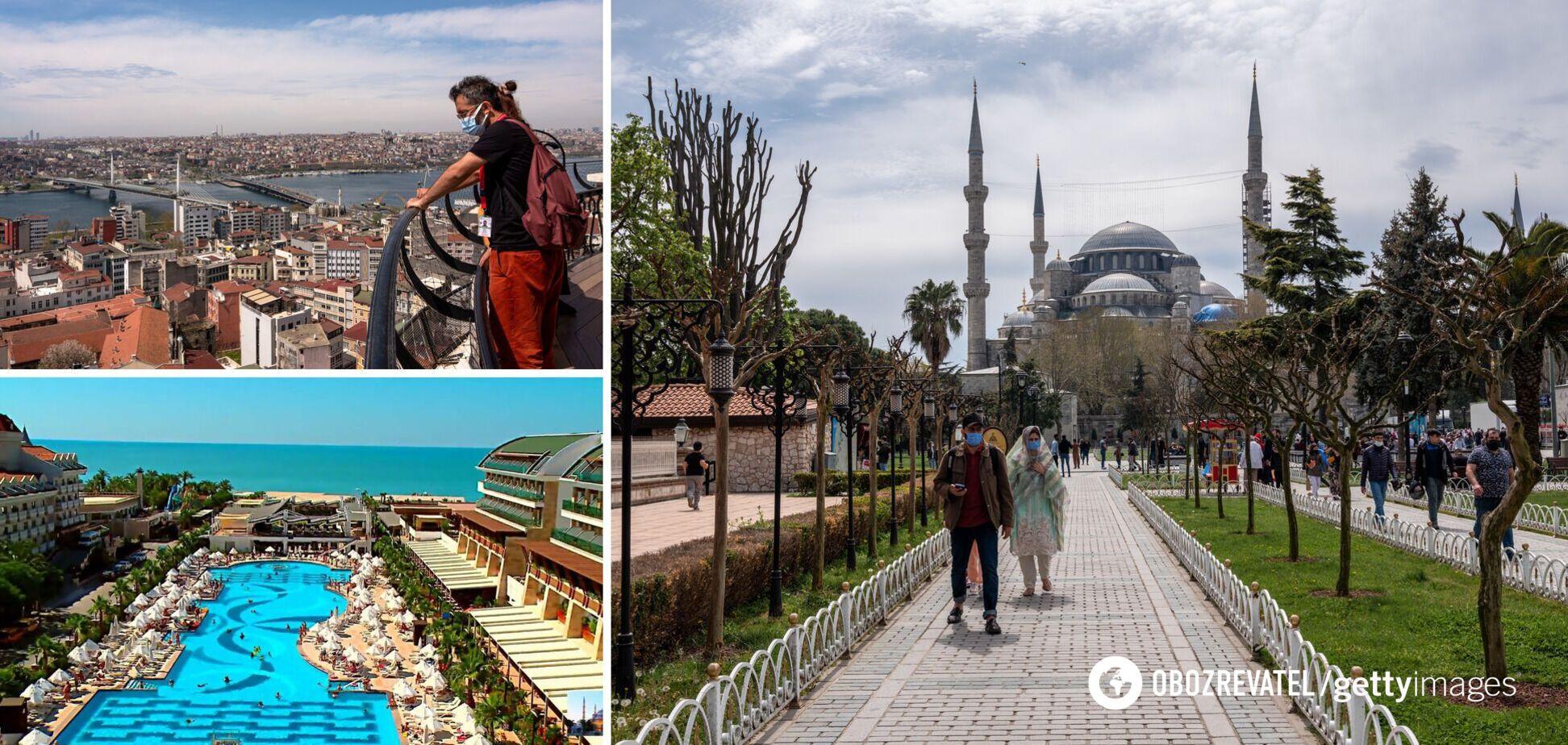 У Туреччині з 29 квітня по 17 травня вводять повний локдаун