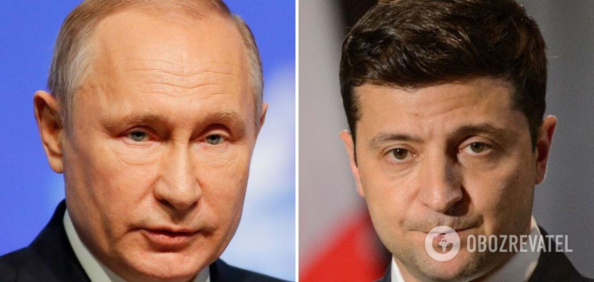 Переговоры Владимира Зеленского и Владимира Путина