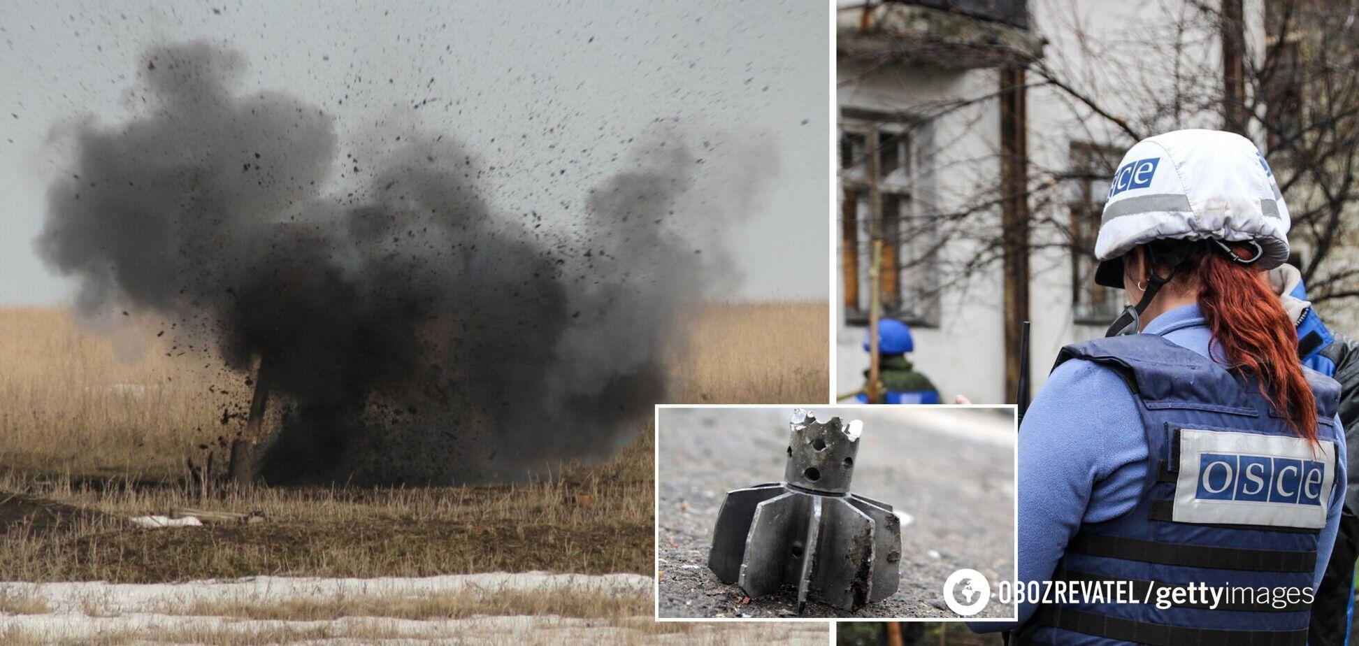 На Донбассе за три дня зафиксировали почти 300 взрывов