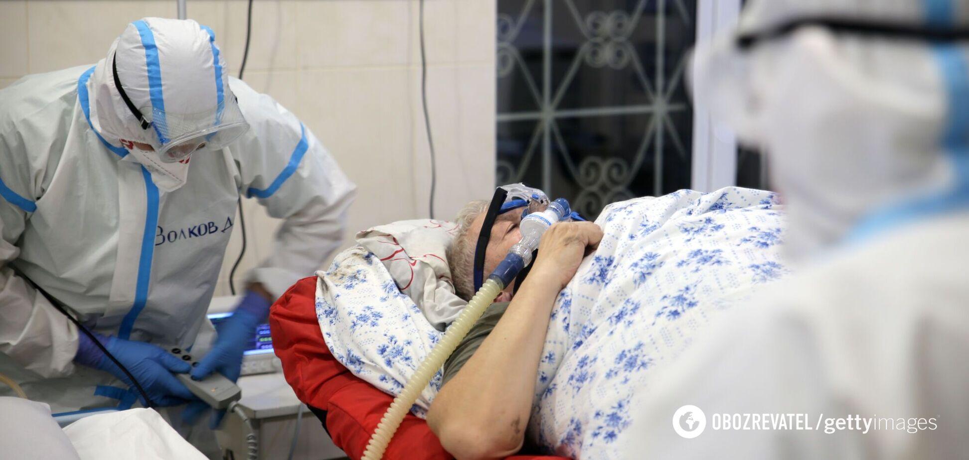 В Україні за добу від COVID-19 померло понад 400 осіб