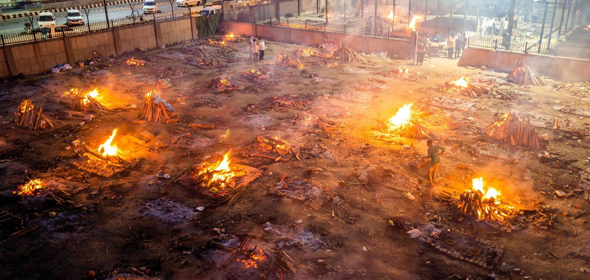 В Індії критична ситуація з COVID-19: лікарі попередили про 'пекло'. Фото
