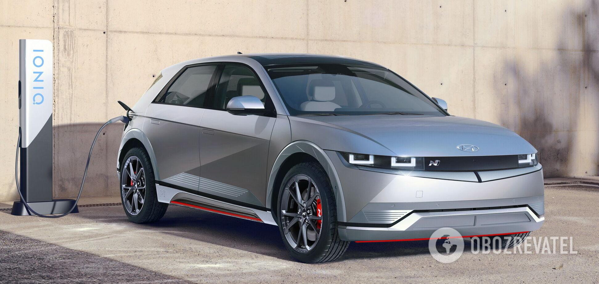 Hyundai запланувала спортивний N-електромобіль