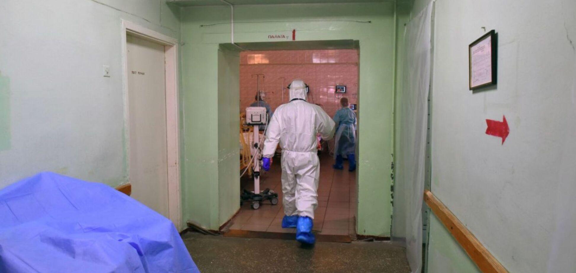 У МОЗ озвучили, на скільки лікарні заповнені пацієнтами з COVID-19