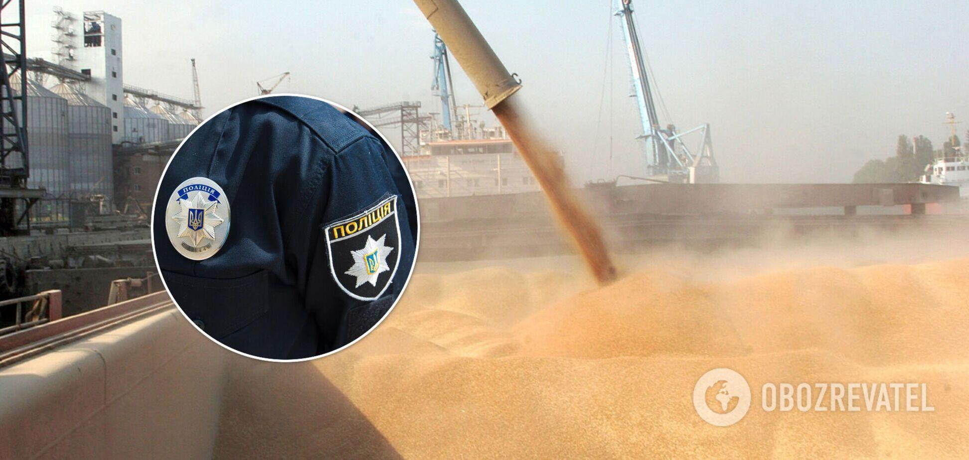 Нацполиция Украины расследует преступную связь зернотрейдеров и транспортных компаний