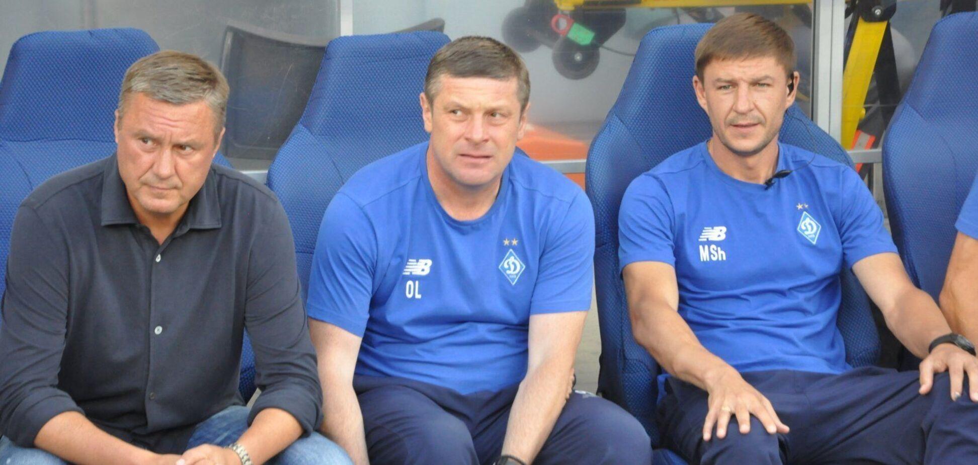 Александр Хацкевич, Олег Лужный и Максим Шацких