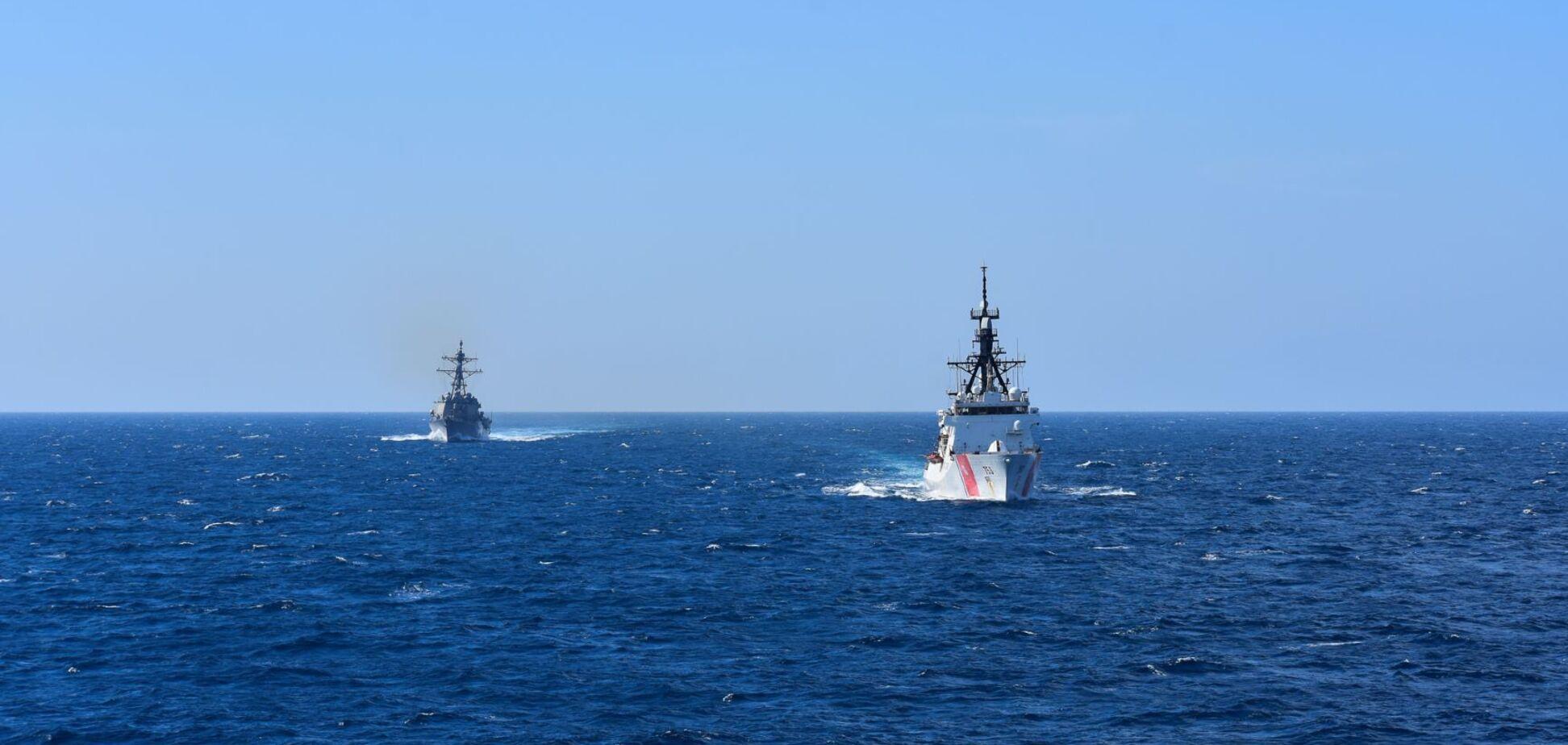 Корабель USCGC Hamilton