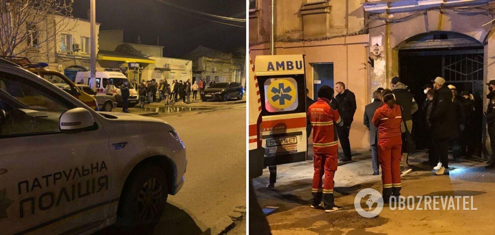 В Одессе взрыв газа обрушил дом на двух человек. Фото и видео