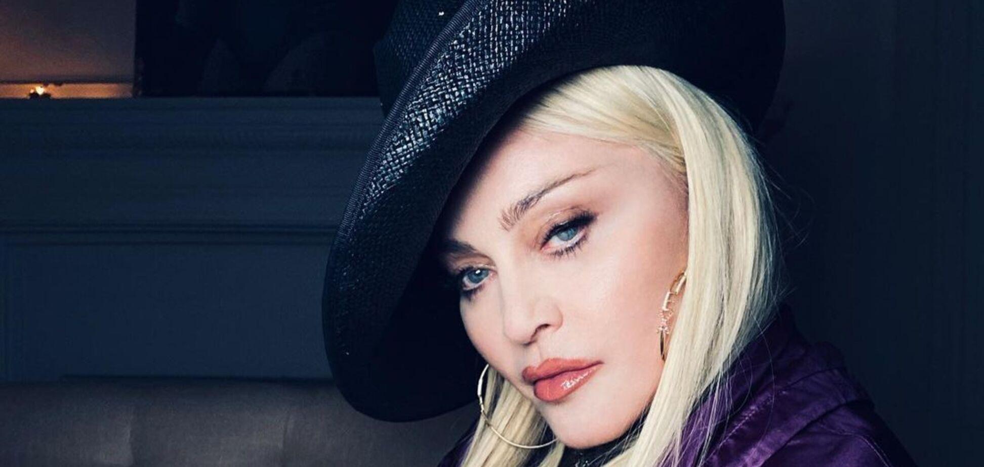 62-річна Мадонна показала стильний шкіряний образ. Фото