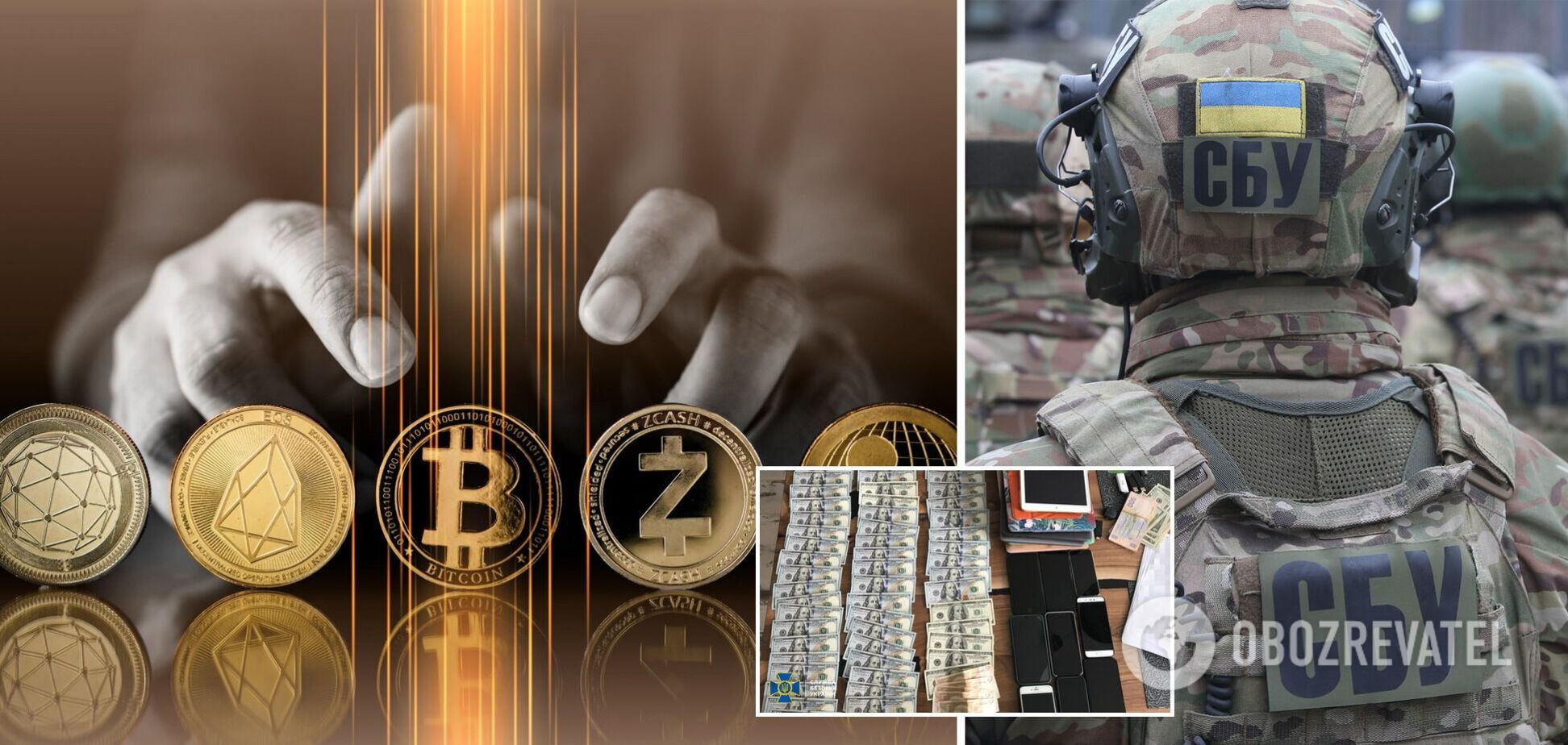 СБУ вилучила 800 кг срібла у криптовалютників, які фінансували ''Л/ДНР''. Фото і відео