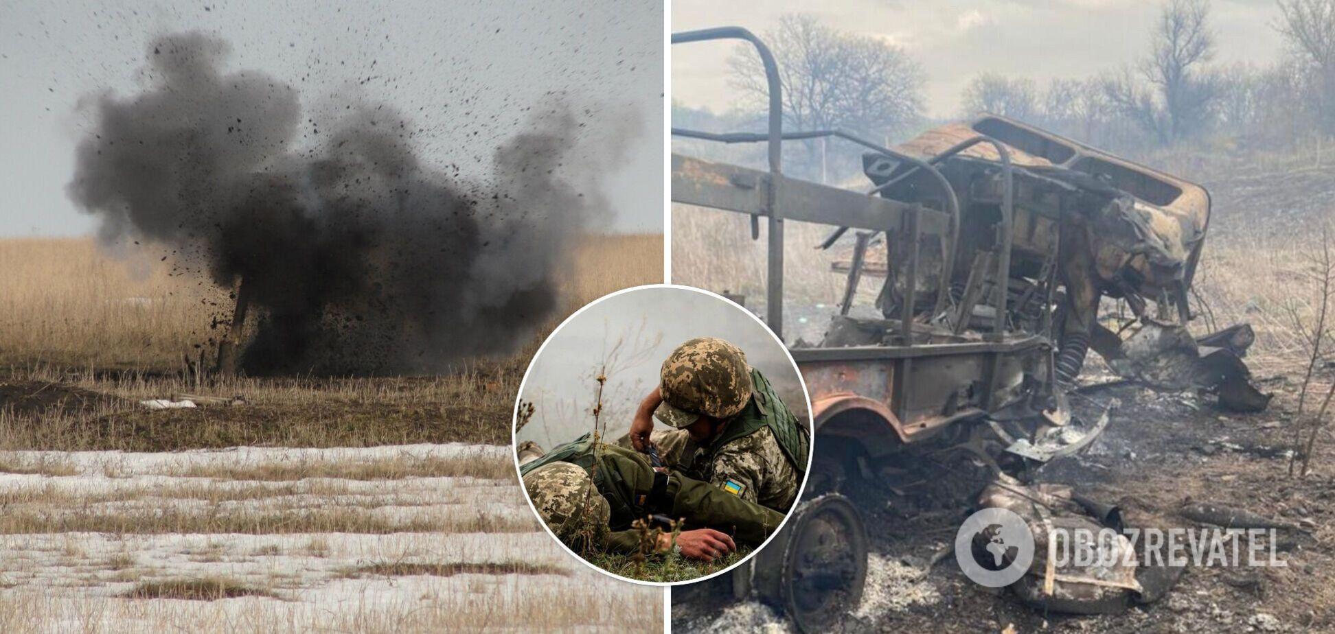 Підрив вантажівки ЗСУ на Донбасі кваліфікували як теракт: фото наслідків