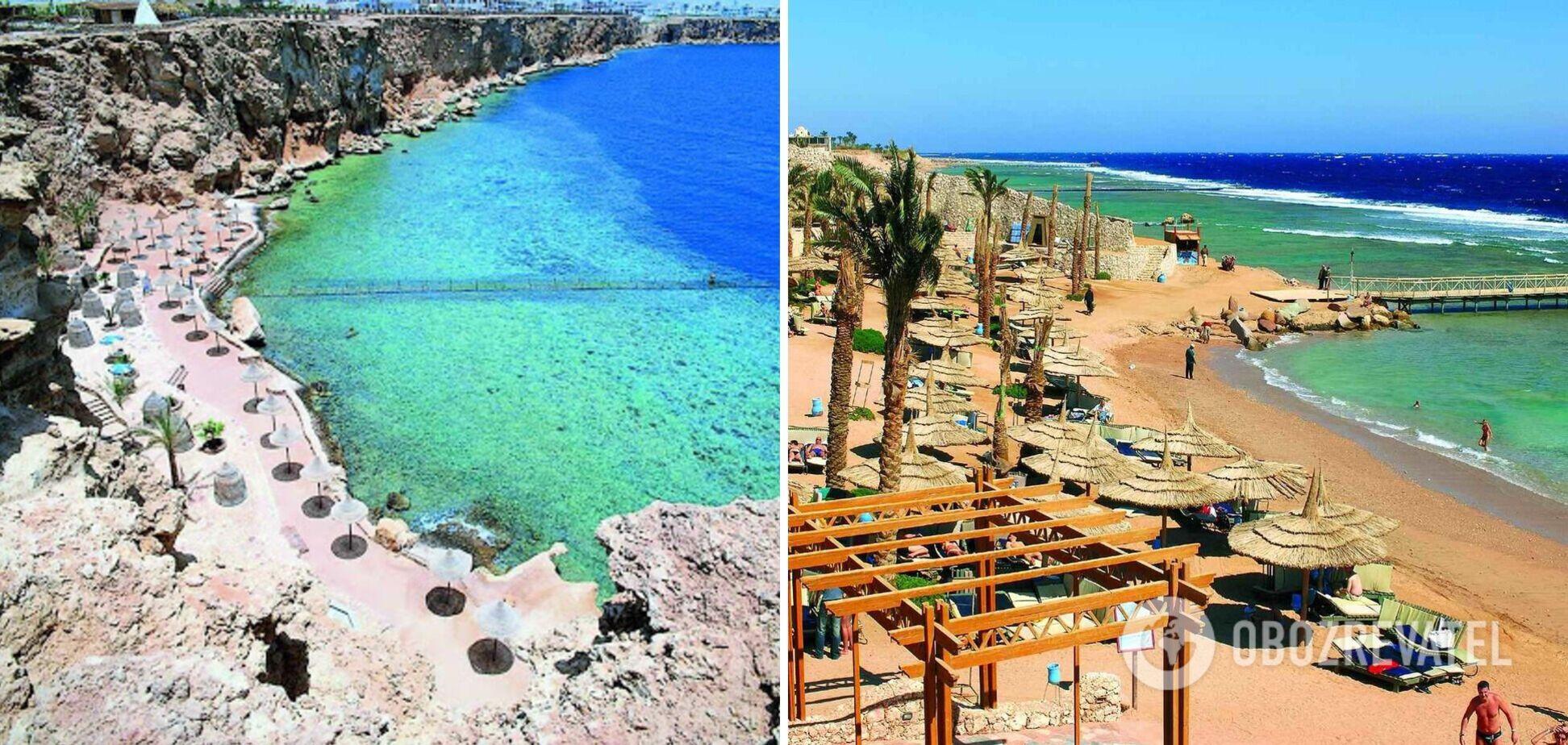 Шарм-ель-Шейх чи Хургада: де кращі пляжі