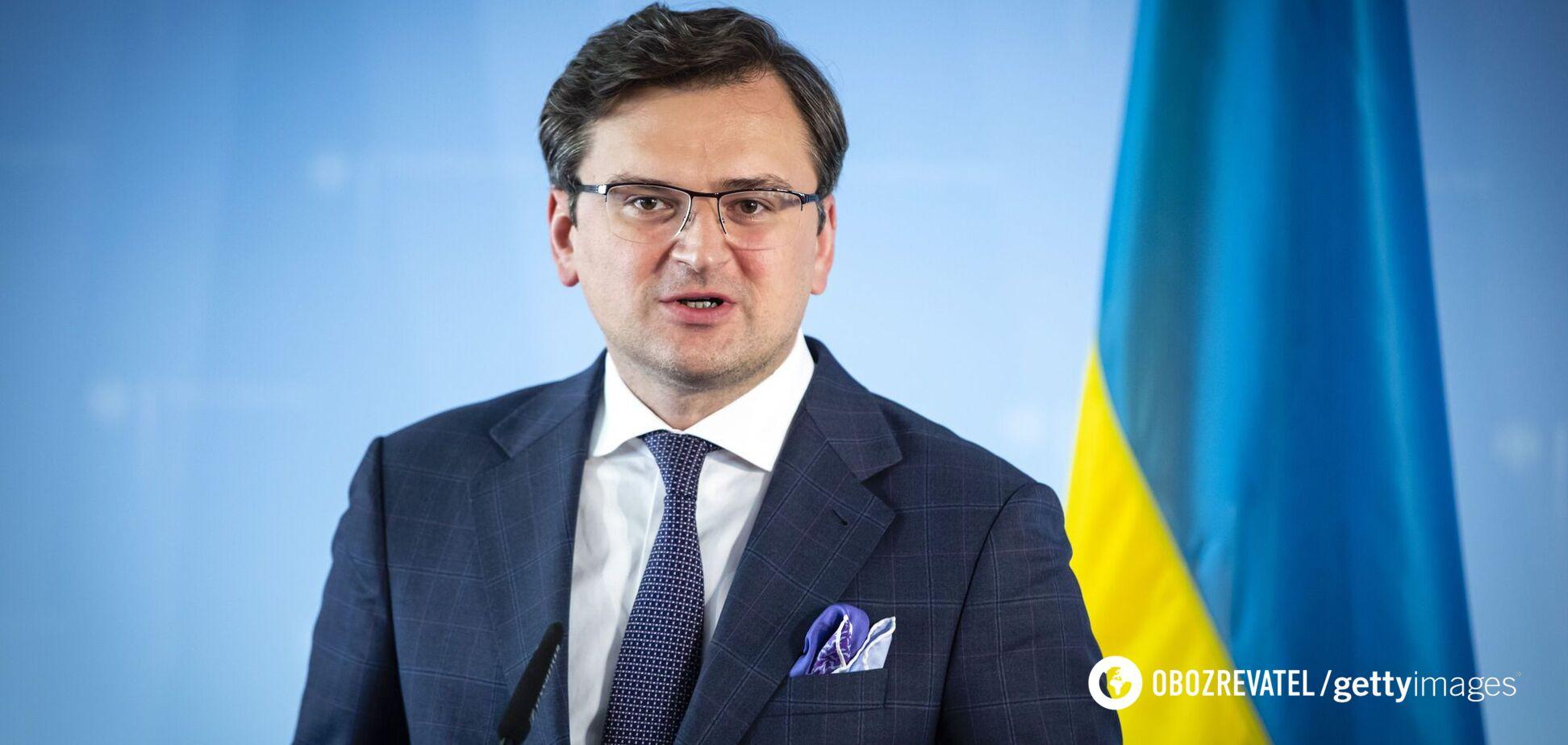Кулеба обозначил 'красную' линию Украины по Донбассу