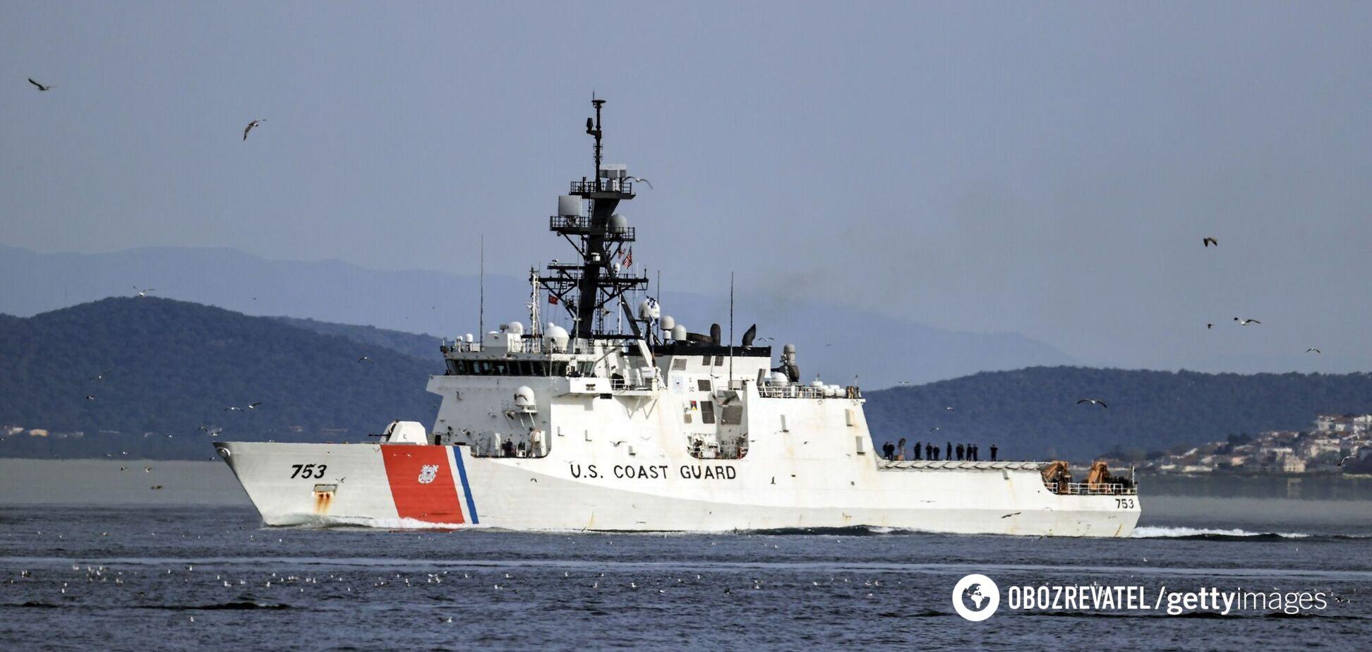 Військовий катер США вперше за 13 років увійшов у Чорне море. Фото