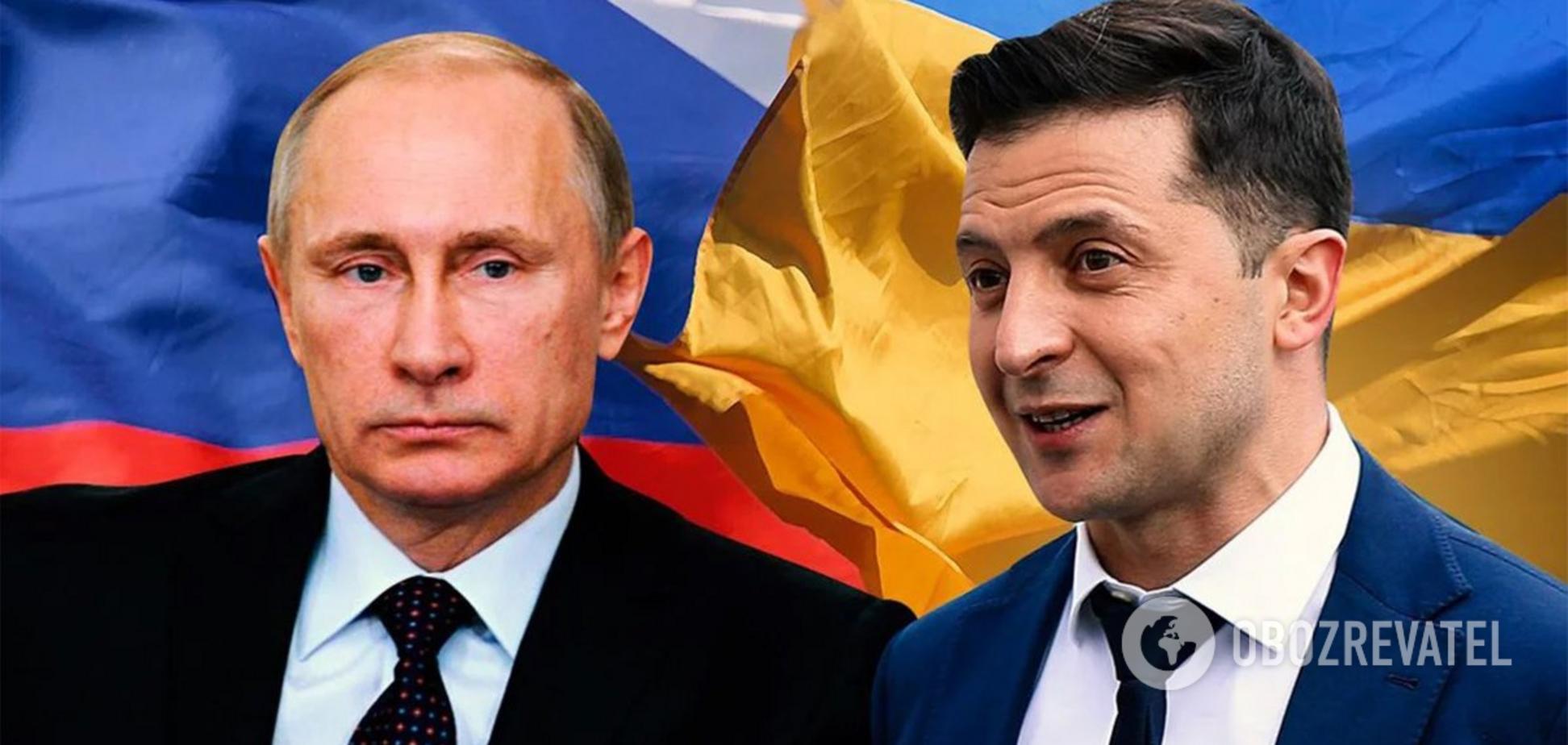 Володимр Зеленский предложил Владимиру Путину встретиться в Ватикане