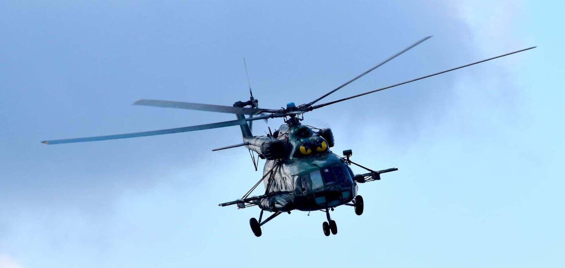 Бойовий вертоліт ЗСУ Мі-8