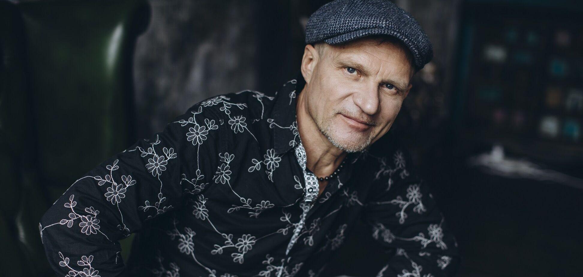 Український музикант Олег Скрипка