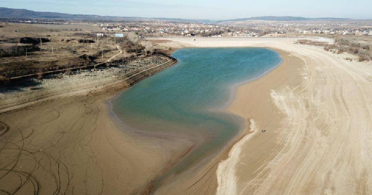 В Крыму высохли все водохранилища, а зимние осадки не сформировали сто