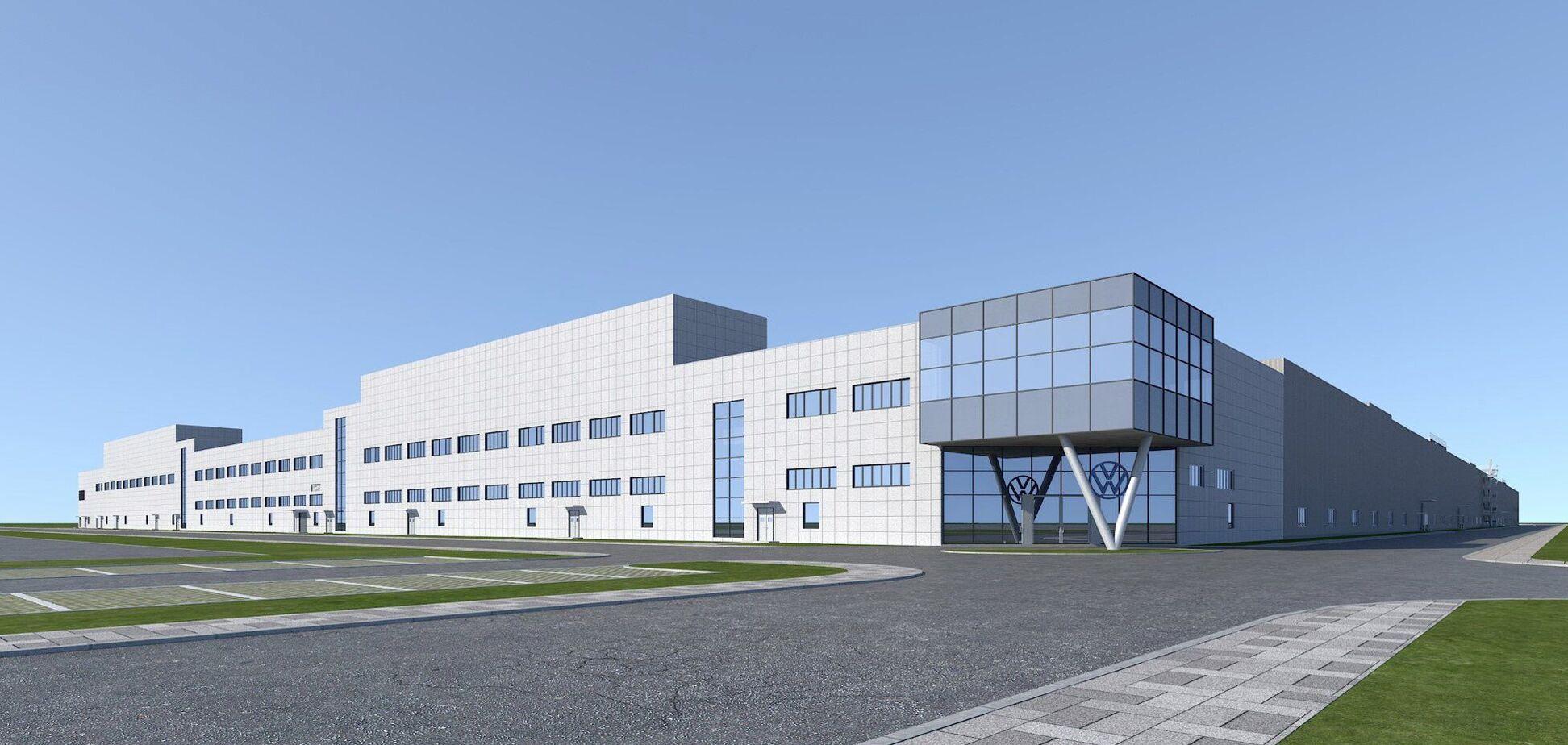 Volkswagen построит в Китае завод по выпуску электромобилей