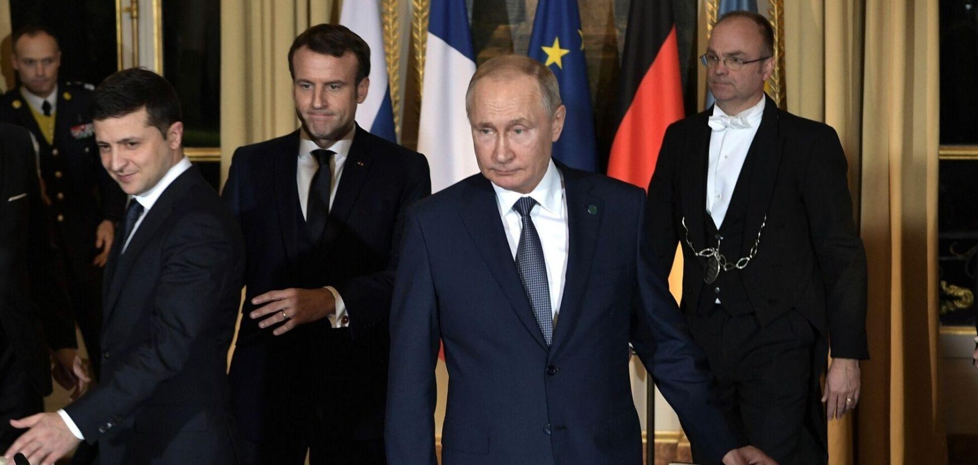 Последняя встреча в 'нормандском формате' прошла 9 декабря 2019 года в Париже