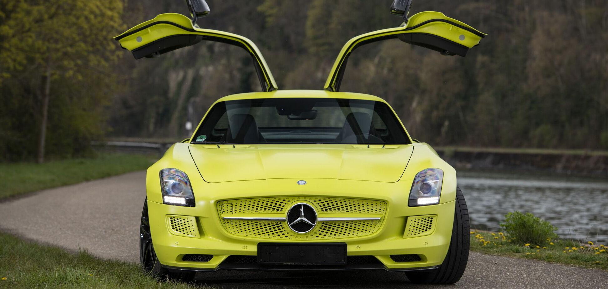 Електричний суперкар Mercedes оцінили в мільйон євро
