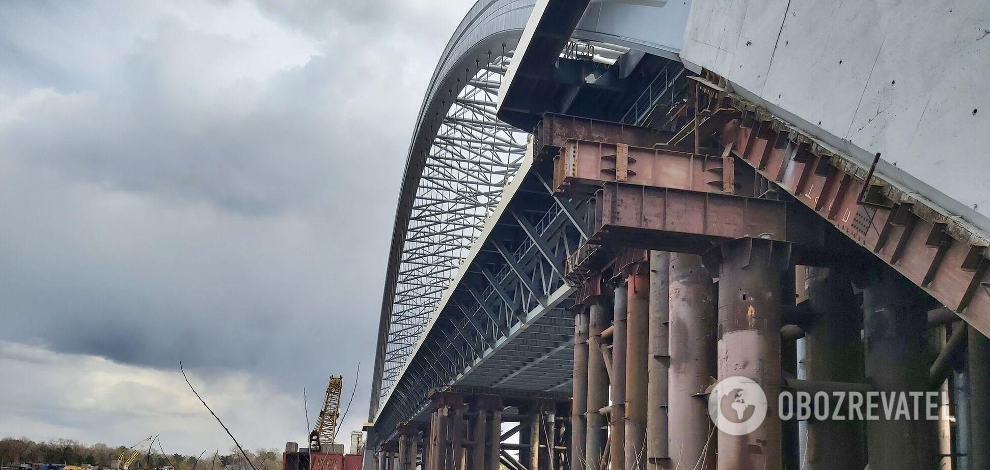 Самый известный долгострой столицы: как сегодня выглядит Подольский мост