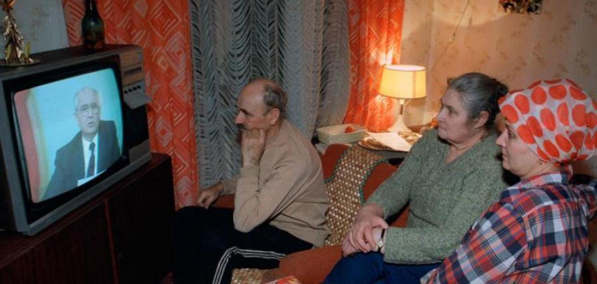 Убоге телебачення в СРСР: все схвалювалося 'зверху'