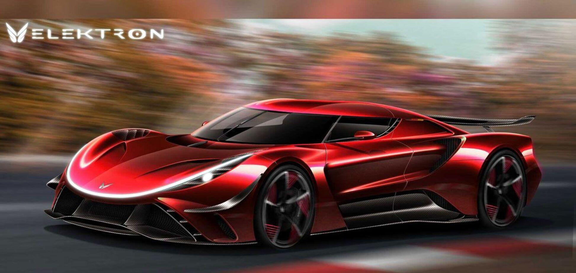 Стартап Elektron Motors із Німеччини готує суперкар на 2300 к.с.