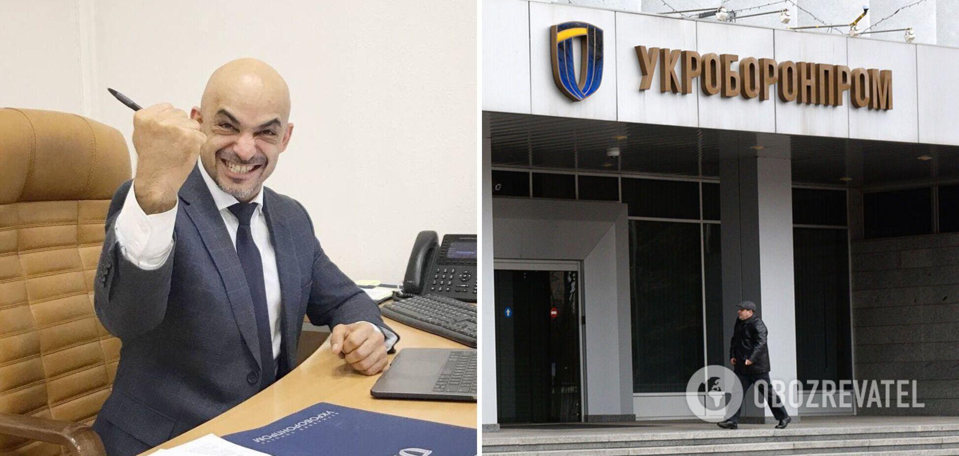 Найєм до звільнення встиг заробити в 'Укроборонпромі' більш як 3 млн з початку року