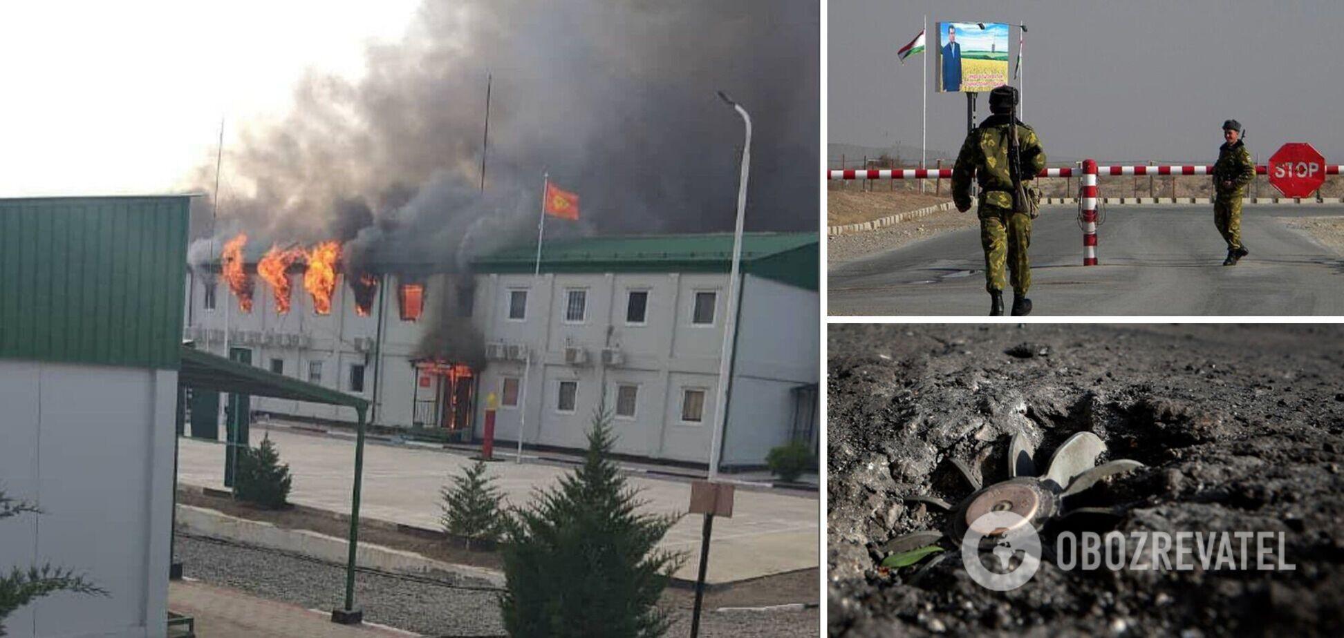 Кыргызстан и Таджикистан обвинили друг друга в эскалации на границе
