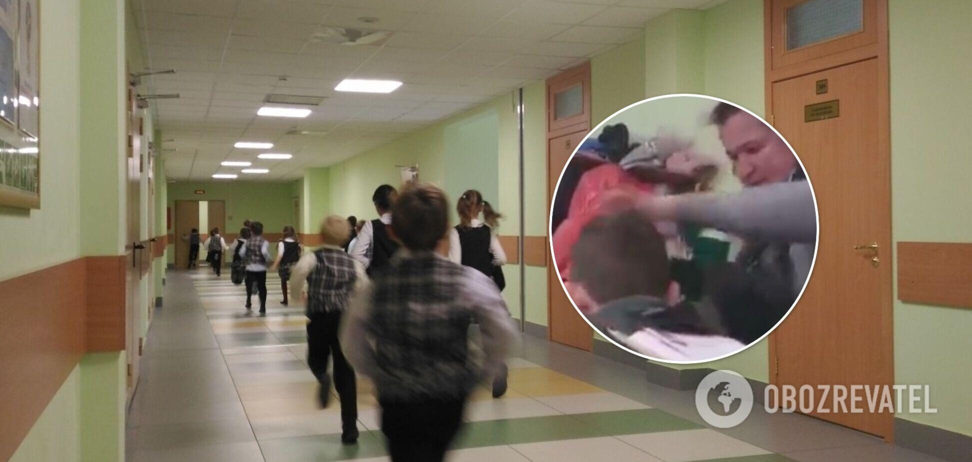 На Закарпатті вчителька схопила за волосся дитину та трусила її через помилку в зошиті. Відео