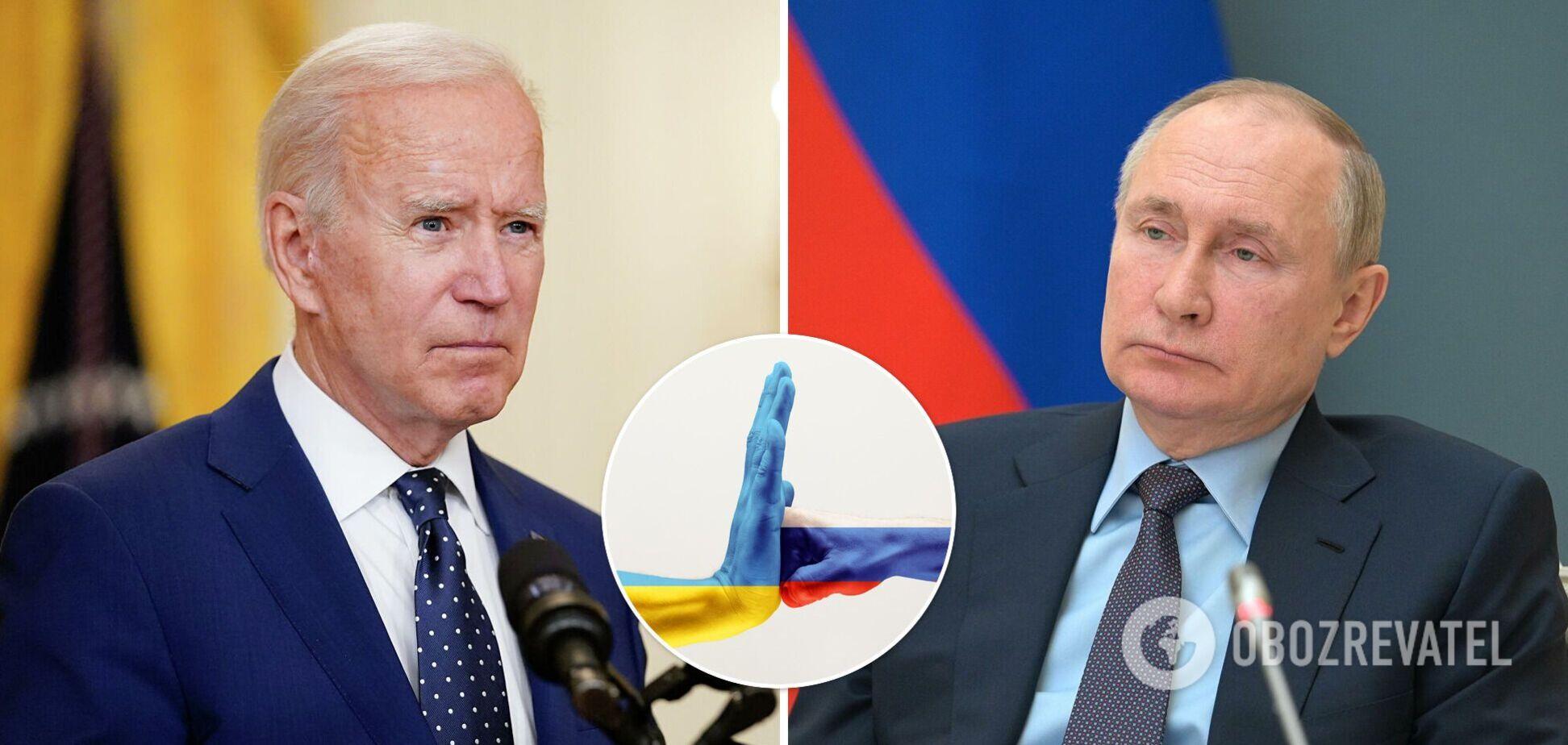 У США підтвердили, що Байден збирається говорити з Путіним про Україну