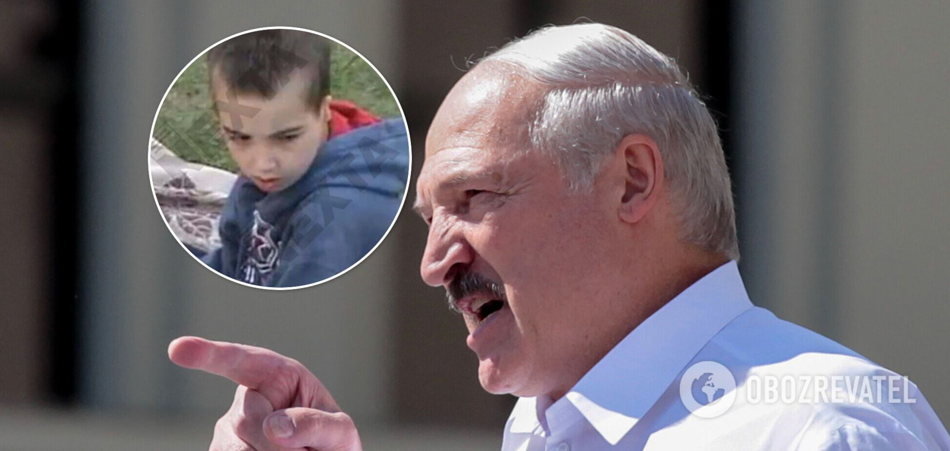 Олександр Лукашенко з сином