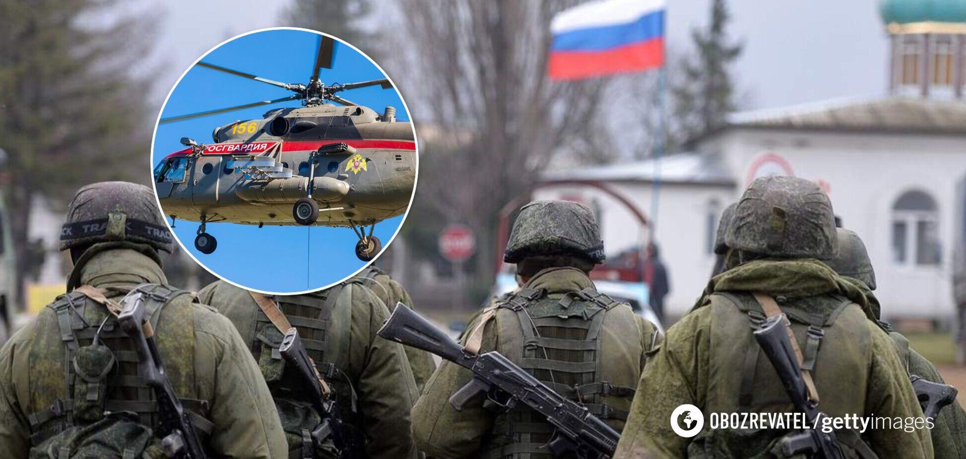 Окупанти передали Росгвардії захоплені в Криму українські вертольоти. Фото