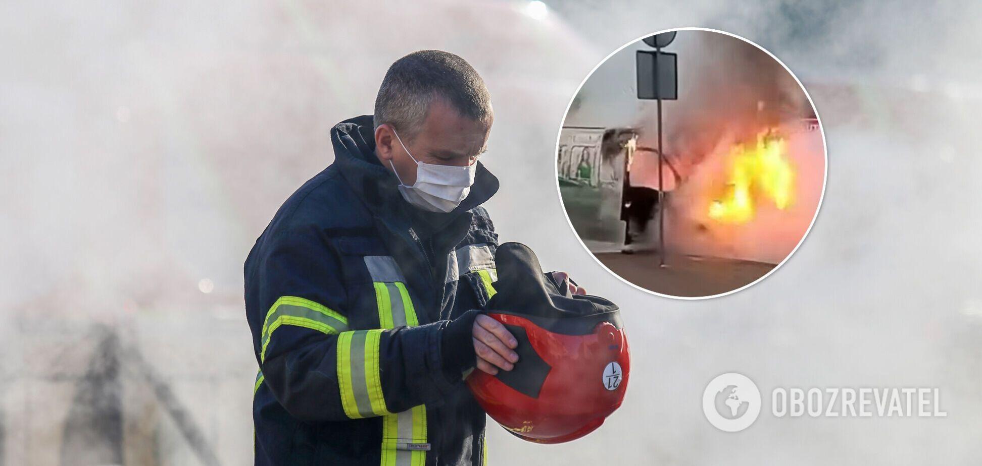 Пожежники оперативно загасили вогонь