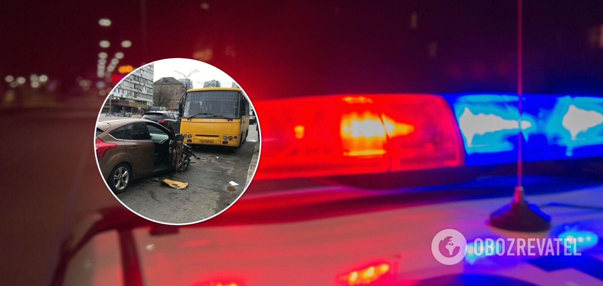 Водитель одного из авто возможно был пьян