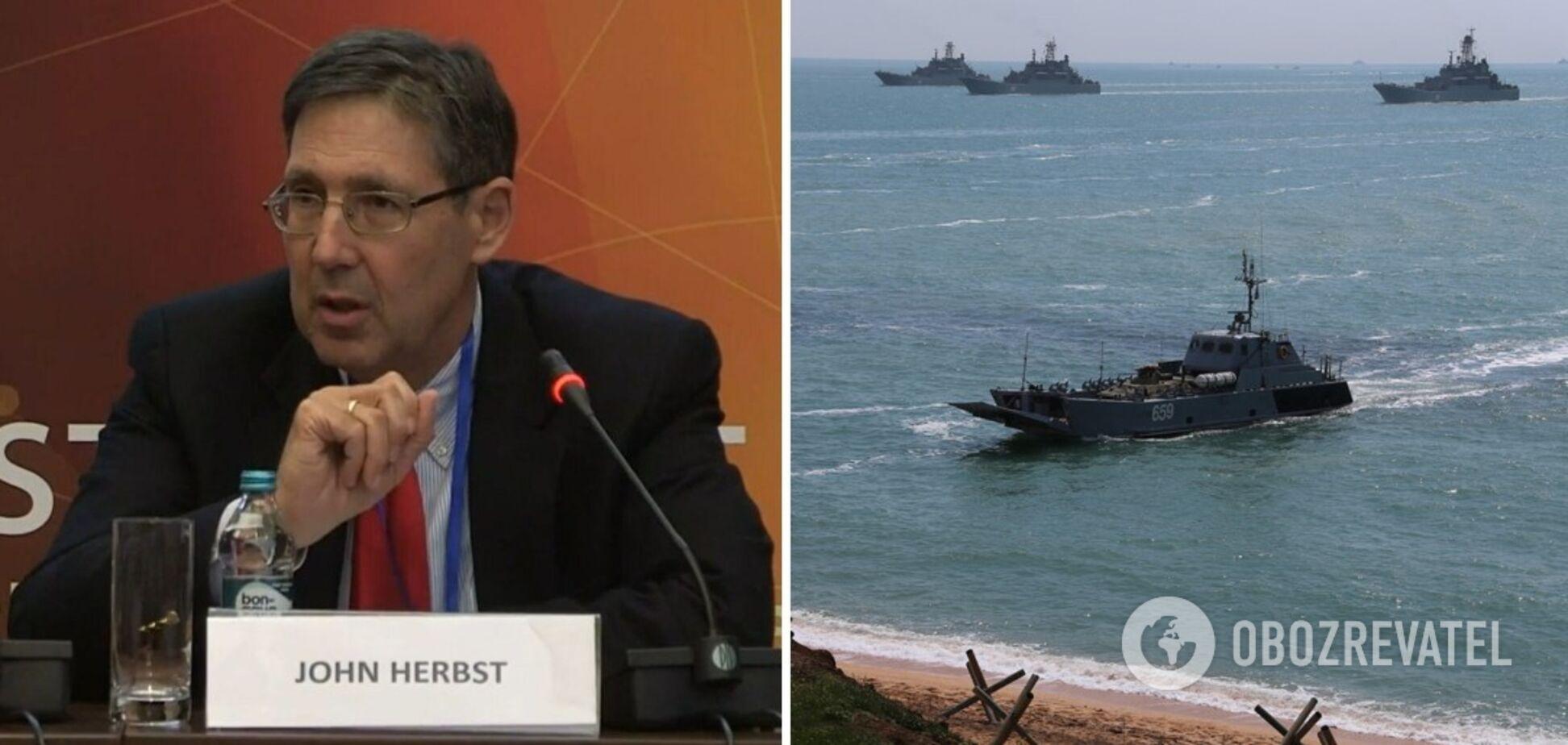 Джон Хербст заявил, что видит в действиях России реальную военную угрозу для Украины