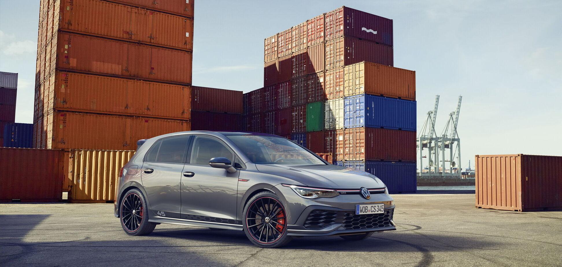 Volkswagen начал продажи юбилейной версии Golf GTI Clubsport 45