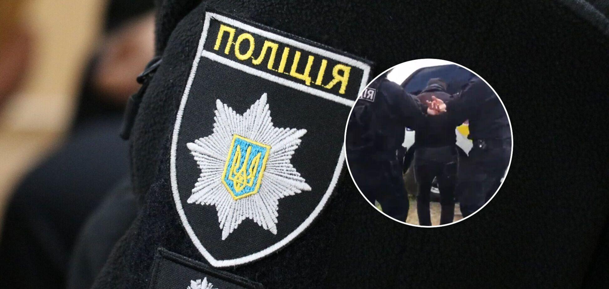 Затримання в Одеській області