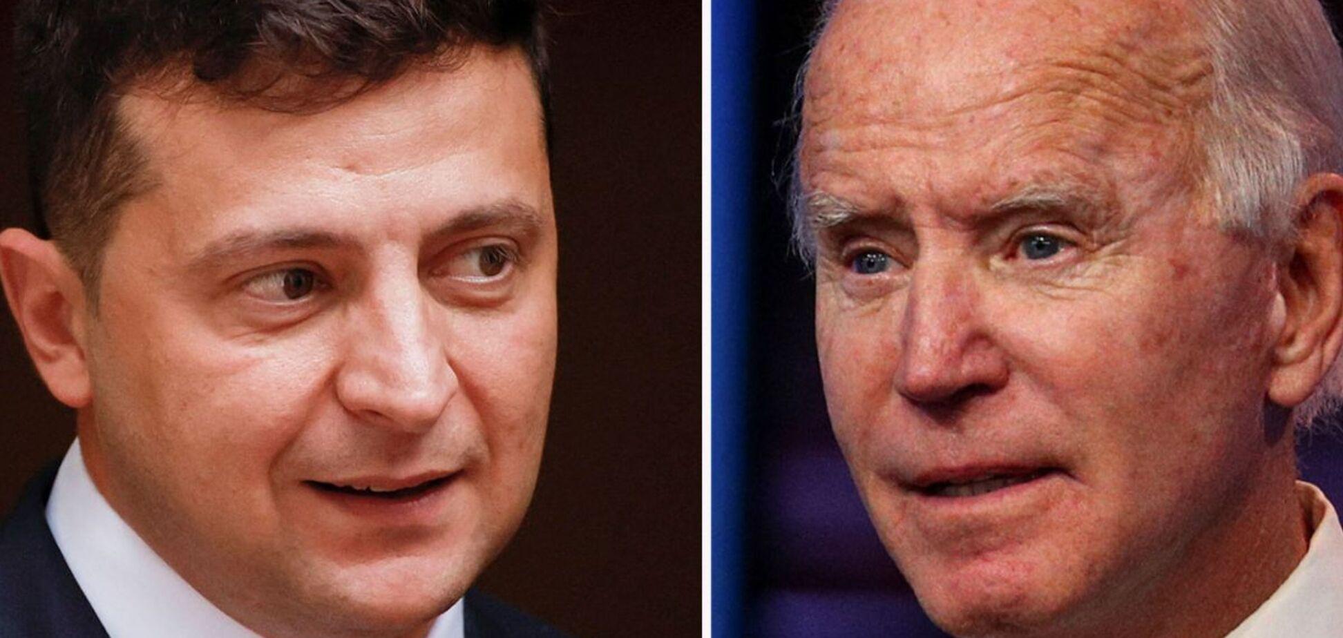 Президент США Джо Байден провів телефонну розмову з президентом України Володимиром Зеленським