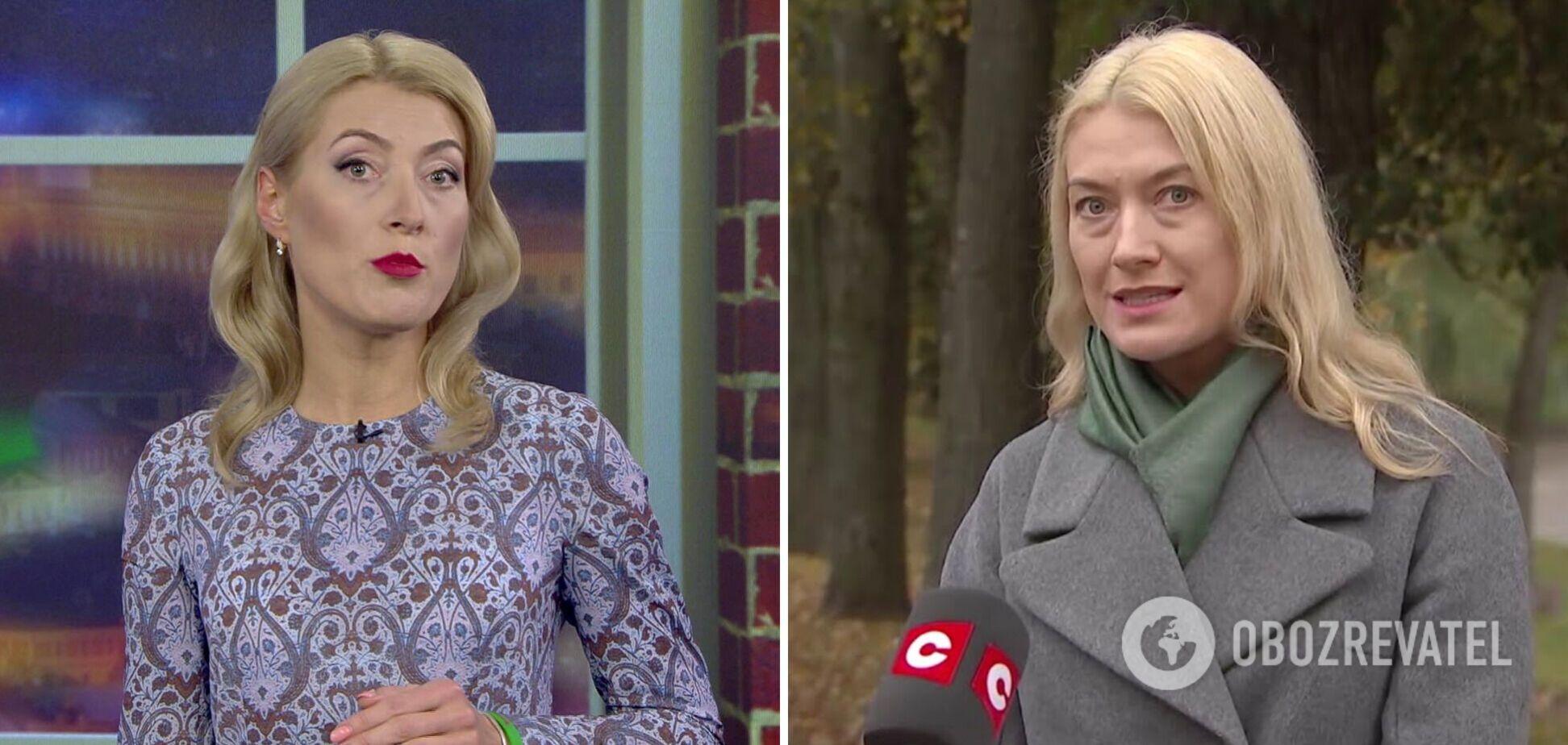 Білоруська телеведуча видала, що Україна 'загинається від злиднів, а народ лазить по смітниках'